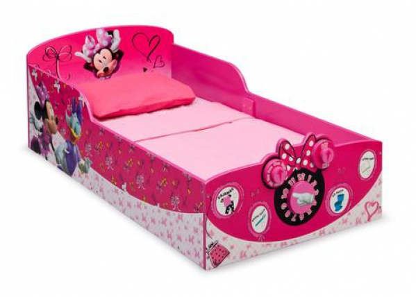 BabyQuip - Baby Equipment Rentals - Minnie Mouse bed with sheet - Minnie Mouse bed with sheet -