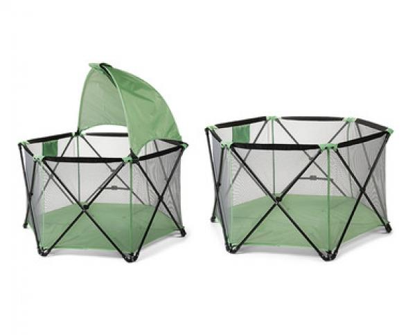 BabyQuip - Baby Equipment Rentals - Pop up playpen with sun shade - Pop up playpen with sun shade -