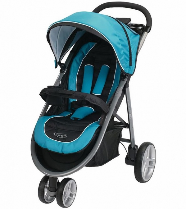 BabyQuip - Baby Equipment Rentals - Graco Aire3 Click Connect Stroller  - Graco Aire3 Click Connect Stroller  -