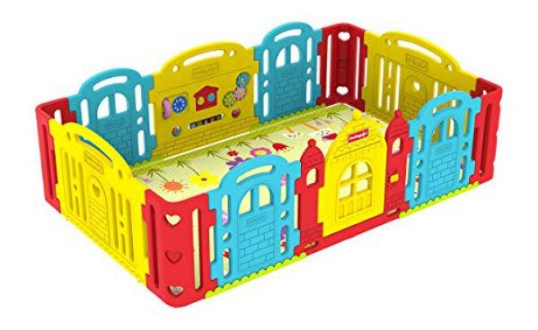 BabyQuip - Baby Equipment Rentals - Dwinguler Castle Playpen - Dwinguler Castle Playpen -