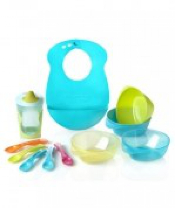 BabyQuip - Baby Equipment Rentals - Mealtime Feeding Set - Mealtime Feeding Set -