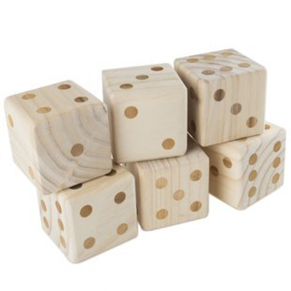 BabyQuip - Baby Equipment Rentals - Giant Wooden Dice - Giant Wooden Dice -