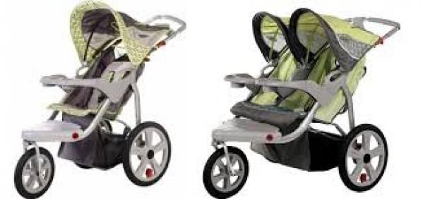 BabyQuip - Baby Equipment Rentals - Single Jog Stroller - Single Jog Stroller -
