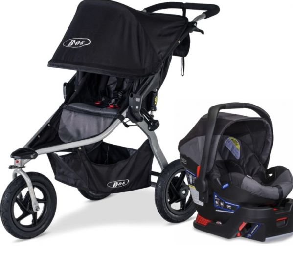 BabyQuip Baby Equipment Rentals - BOB Single Jogging Stroller Travel System - Becca Lipari - Aubrey, TX