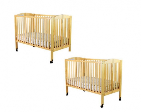 BabyQuip - Baby Equipment Rentals - Double Full-size Cribs - Twins/Siblings - Double Full-size Cribs - Twins/Siblings -