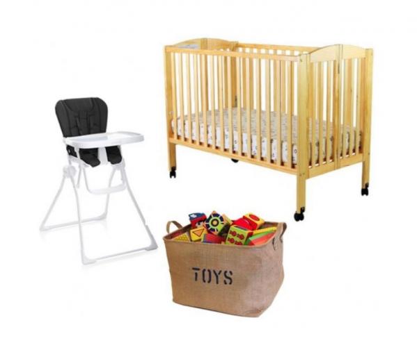 BabyQuip - Baby Equipment Rentals - Eat, Sleep, Play Package - Eat, Sleep, Play Package -