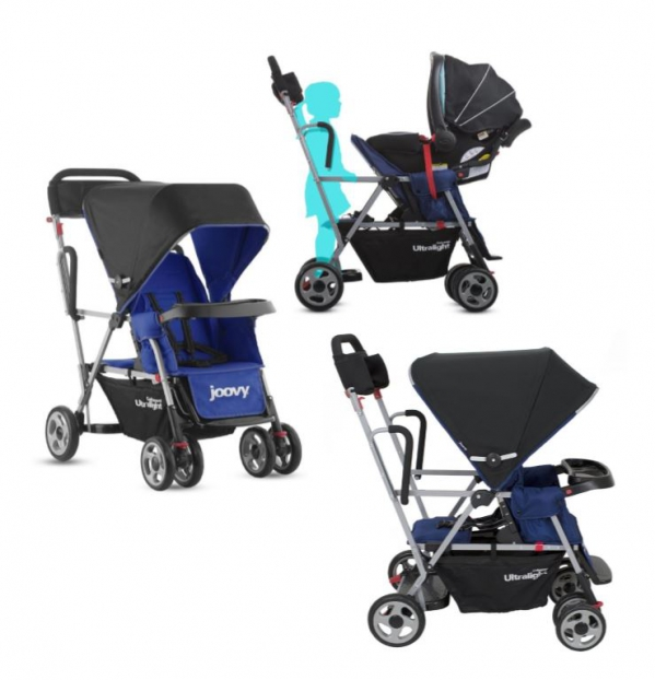 BabyQuip Baby Equipment Rentals - Joovy® Caboose Ultralight StandOn Tandem Stroller - Nikisha Mayers - Woodbridge, New Jersey