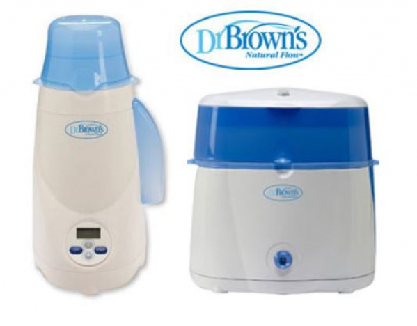 BabyQuip - Baby Equipment Rentals - Dr. Brown's Bottle Warmer and Sterilizer Package - Dr. Brown's Bottle Warmer and Sterilizer Package -