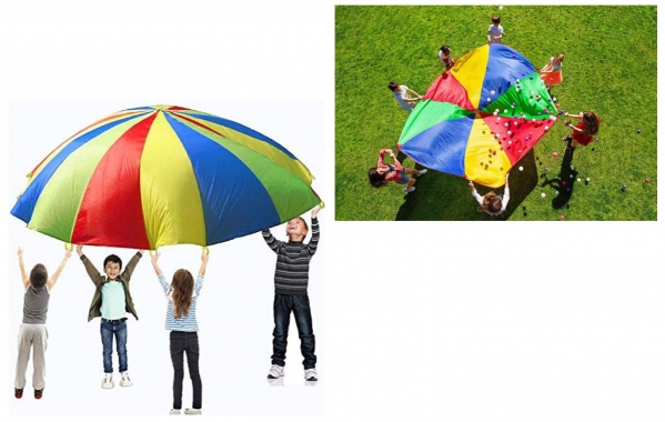 BabyQuip - Baby Equipment Rentals - 12' Play Parachute - 12' Play Parachute -