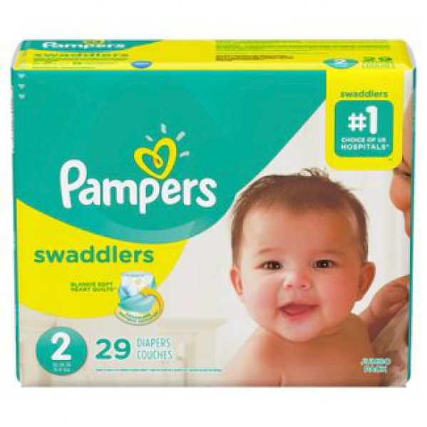Pampers Diapers - Size 2