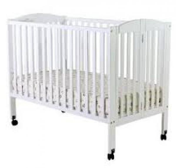 BabyQuip - Baby Equipment Rentals - Full Size Crib with Linens - Full Size Crib with Linens -