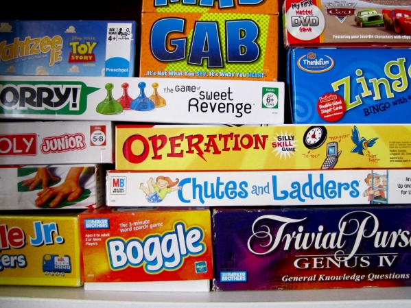 BabyQuip - Baby Equipment Rentals - Board Game Package {School Age} - Board Game Package {School Age} -