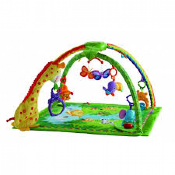 BabyQuip - Baby Equipment Rentals - Fisher-Price Rainforest Melodies & Lights Gym - Fisher-Price Rainforest Melodies & Lights Gym -