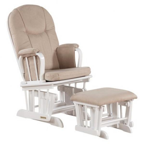 BabyQuip - Baby Equipment Rentals - Rocking glider chair with ottoman - Rocking glider chair with ottoman -