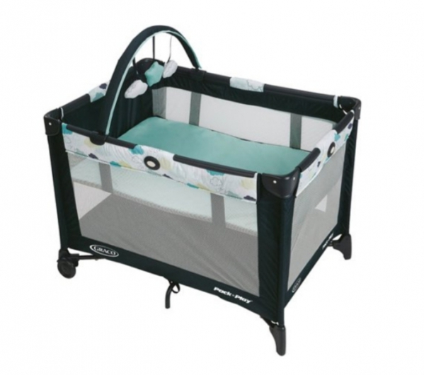 BabyQuip - Baby Equipment Rentals - Graco Pack 'n Play On the Go Playard with Bassinet - Graco Pack 'n Play On the Go Playard with Bassinet -