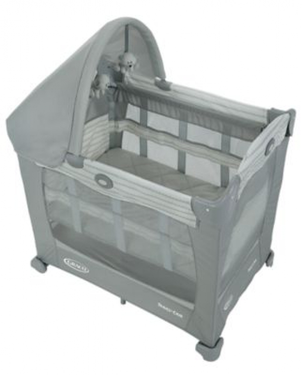 BabyQuip - Baby Equipment Rentals - Graco Travel Lite Crib with Stages  - Graco Travel Lite Crib with Stages  -