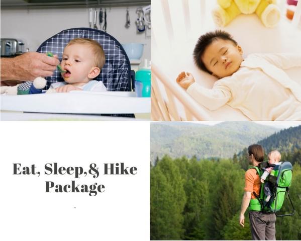 BabyQuip - Baby Equipment Rentals - Eat, Sleep, & Hike Package - Eat, Sleep, & Hike Package -