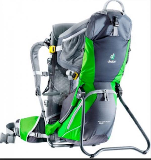 BabyQuip - Baby Equipment Rentals - Deuter Backpack Kid Carrier - Deuter Backpack Kid Carrier -