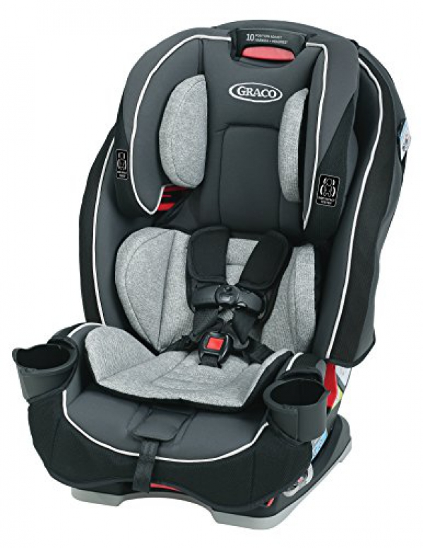 BabyQuip - Baby Equipment Rentals - Graco Slimfit Convertible Car Seat - Graco Slimfit Convertible Car Seat -