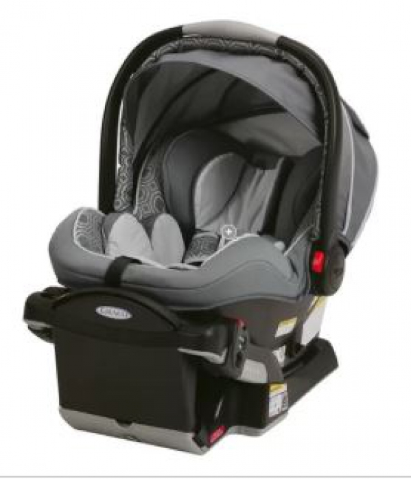 BabyQuip Baby Equipment Rentals - Infant Car Seat Graco Snugride - Ashley Gravette - San Diego, California
