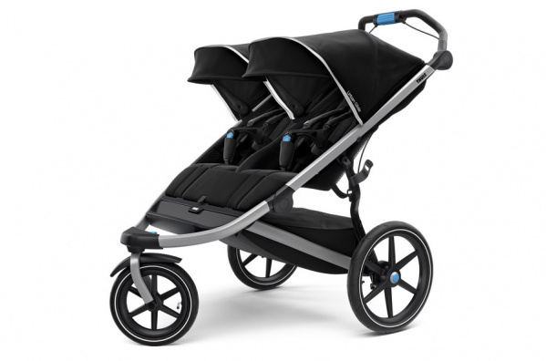 BabyQuip - Baby Equipment Rentals - Stroller - Thule Double Jogging - Stroller - Thule Double Jogging -