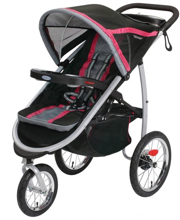 BabyQuip - Baby Equipment Rentals - Stroller- Graco Jogger - Stroller- Graco Jogger -