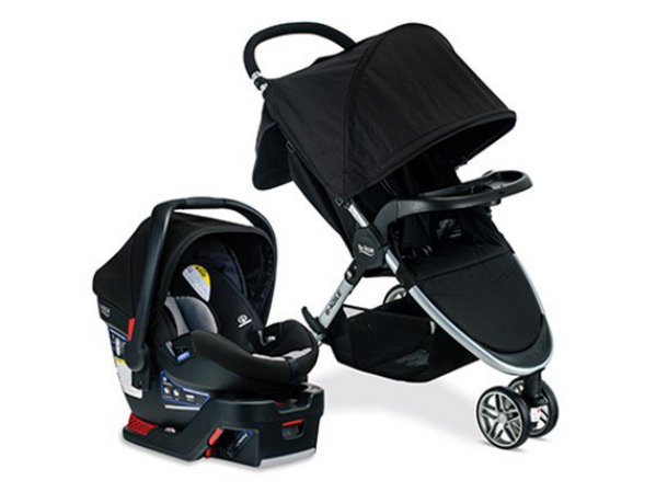 BabyQuip - Baby Equipment Rentals -  Britax B-Agile And B-Safe 35 Travel System -  Britax B-Agile And B-Safe 35 Travel System -
