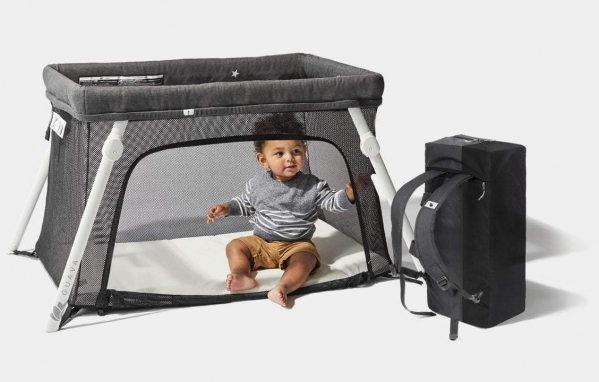 BabyQuip - Baby Equipment Rentals - Lotus Everywhere Travel Crib - Lotus Everywhere Travel Crib -