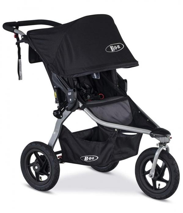 BabyQuip - Baby Equipment Rentals - BOB Rambler Jogging Stroller, Black - BOB Rambler Jogging Stroller, Black -