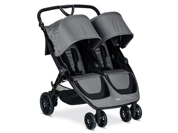 BabyQuip - Baby Equipment Rentals - Britax B-Lively Double Stroller - Britax B-Lively Double Stroller -