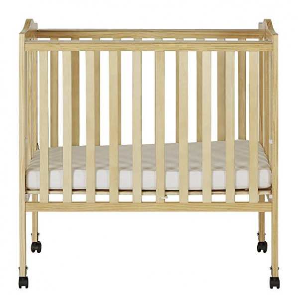 BabyQuip - Baby Equipment Rentals - Lightweight Crib + Linens - Lightweight Crib + Linens -