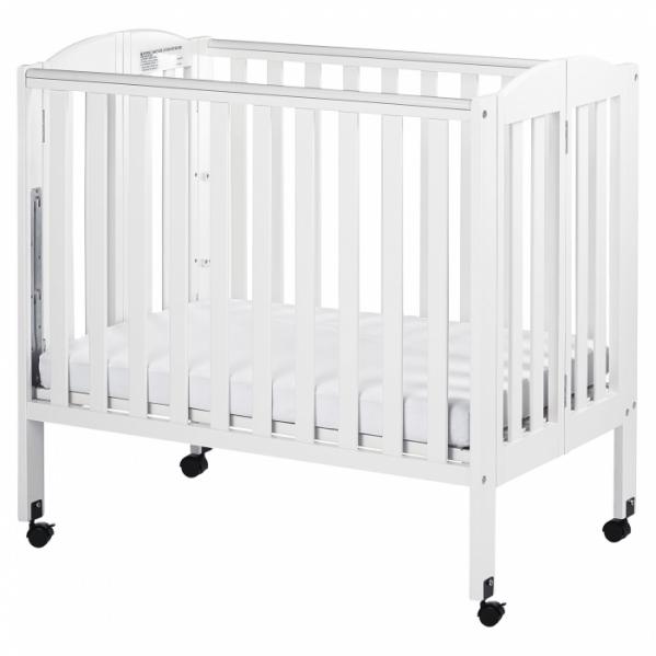 BabyQuip - Baby Equipment Rentals - Mini Crib with Mattress and Linens - Mini Crib with Mattress and Linens -