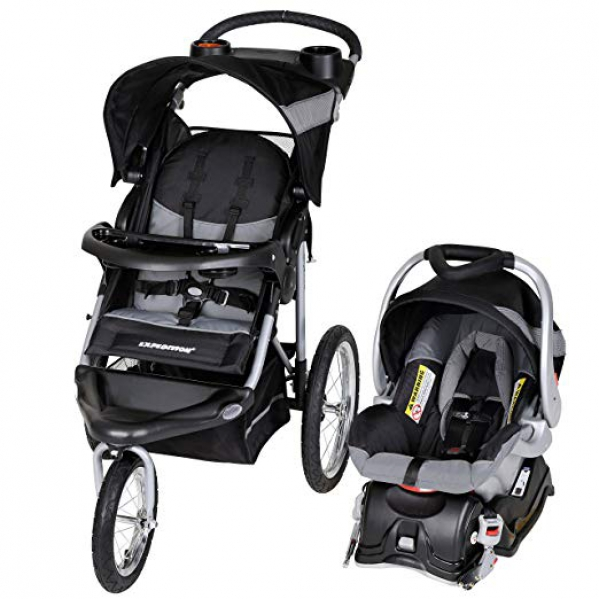 BabyQuip - Baby Equipment Rentals - Baby Trend jogger stroller w/ infant carseat - Baby Trend jogger stroller w/ infant carseat -