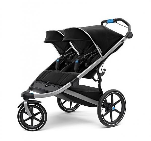 BabyQuip - Baby Equipment Rentals - Jogging Stroller- Double - Jogging Stroller- Double -