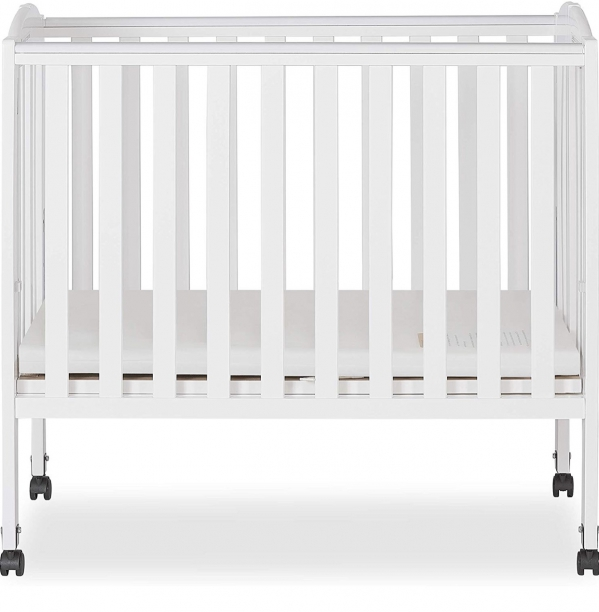 BabyQuip - Baby Equipment Rentals - Mini Wooden Crib  - Mini Wooden Crib  -