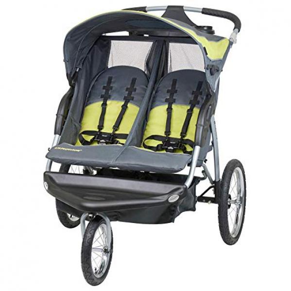 BabyQuip - Baby Equipment Rentals - Jogging Stroller ( Double ) - Jogging Stroller ( Double ) -