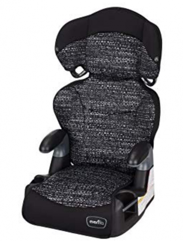 High-Back Booster Car Seat (30-100lbs)