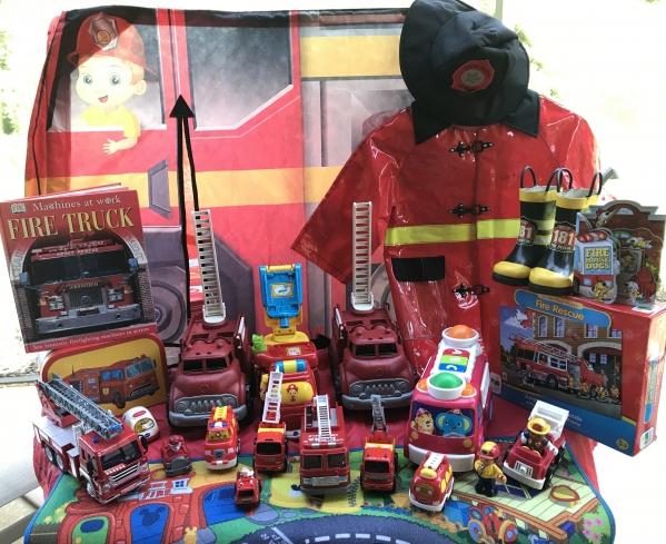 BabyQuip - Baby Equipment Rentals - FIRE PLAY PACK - FIRE PLAY PACK -