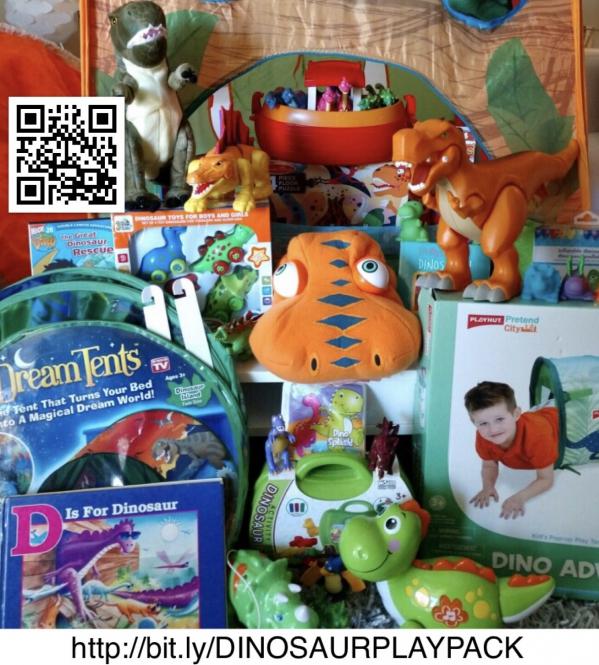 BabyQuip - Baby Equipment Rentals - DINOSAUR PLAY PACK - DINOSAUR PLAY PACK -