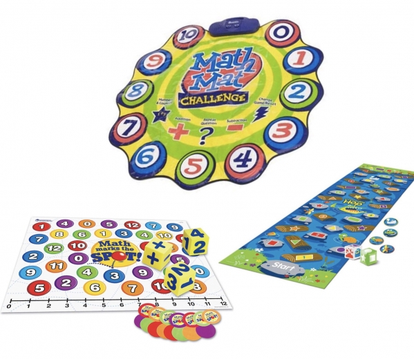 MATH FLOORMAT PLAY PACK