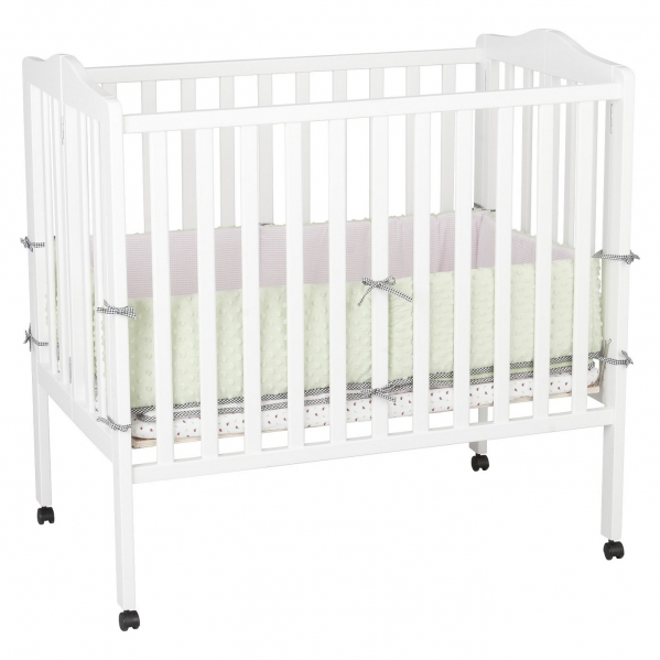 BabyQuip - Baby Equipment Rentals - Condo size Portable Mini Crib - Condo size Portable Mini Crib -