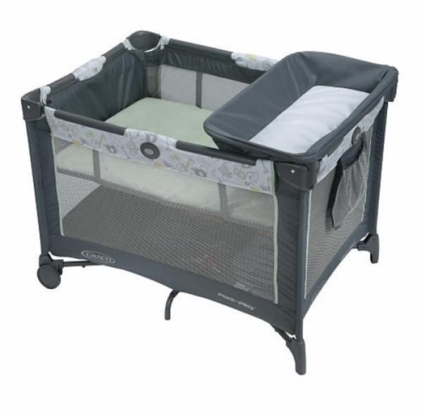 BabyQuip - Baby Equipment Rentals - Pack n Play with Changing Table - Pack n Play with Changing Table -
