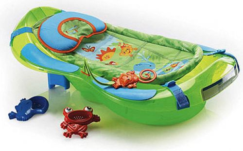 BabyQuip Baby Equipment Rentals - Bath Tub - Janine and Andrea - Jersey Shore, NJ
