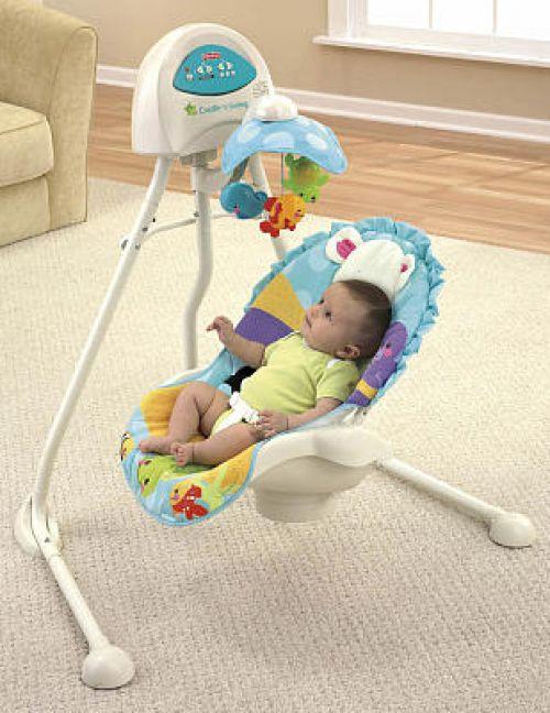 BabyQuip Baby Equipment Rentals - Swing - Janine and Andrea - Jersey Shore, NJ