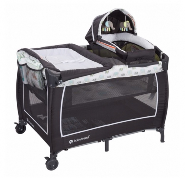 BabyQuip Baby Equipment Rentals - Baby Trend Lil Snooze Deluxe II Nursery Center - Janine and Andrea - Jersey Shore, NJ