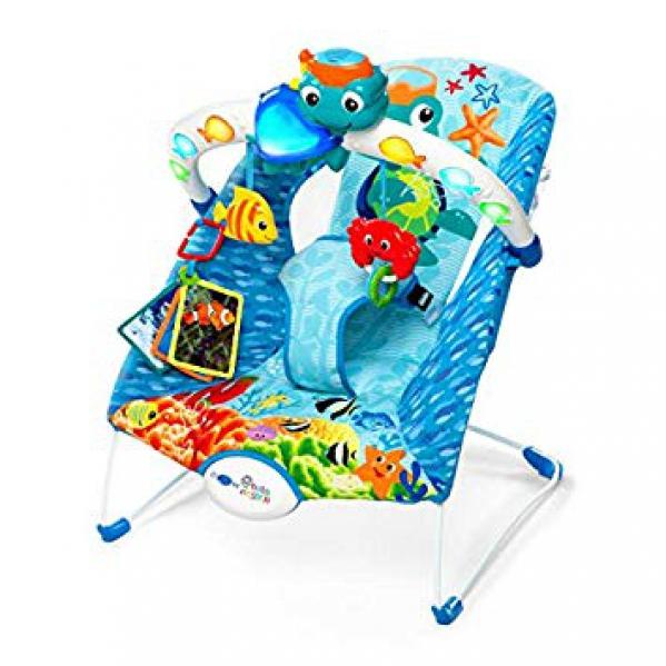 BabyQuip - Baby Equipment Rentals - Baby Einstein Neptune Lights and Sea Bouncer  - Baby Einstein Neptune Lights and Sea Bouncer  -
