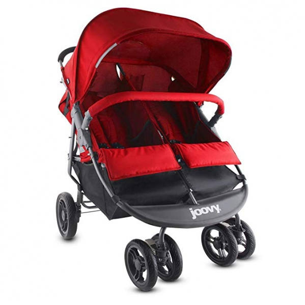 BabyQuip - Baby Equipment Rentals - Joovy Double Stroller - Side by Side - Joovy Double Stroller - Side by Side -