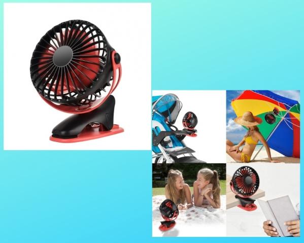 BabyQuip - Baby Equipment Rentals - Stroller Fan - Stroller Fan -