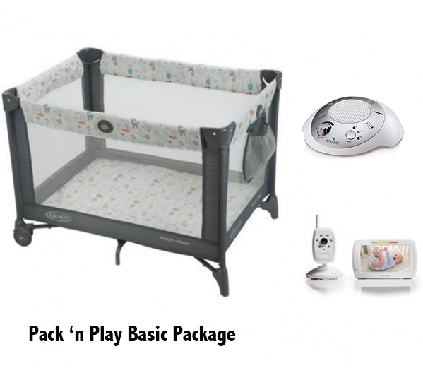 BabyQuip - Baby Equipment Rentals - Pack'n Play Sleep Package - Pack'n Play Sleep Package -