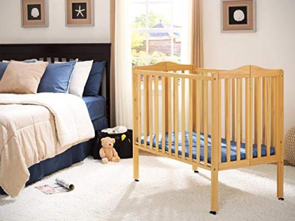 BabyQuip - Baby Equipment Rentals - Mini-Crib with Linens - Mini-Crib with Linens -